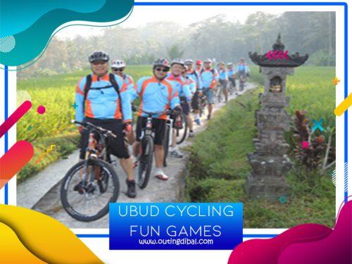 Ubud Cycling Fun Games